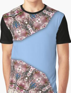 Spring blossoms, Flower Mandala Graphic T-Shirt