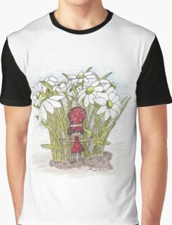 In the Flowers Graphic T-Shirt