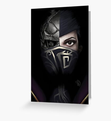 Dishonored 2  Greeting Card