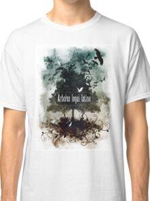 Arbores loqui latine Classic T-Shirt