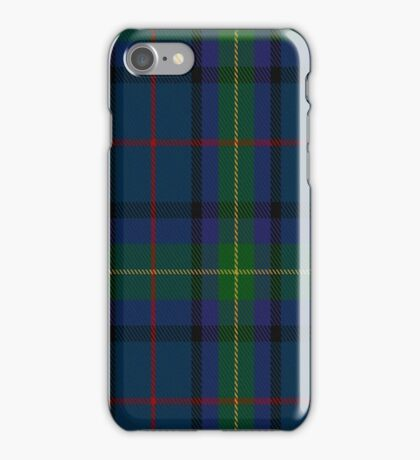 01432 Cowie Fashion Tartan  iPhone Case/Skin