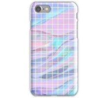 Holographic Grid iPhone Case/Skin