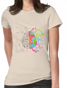 T-shirt Brain Womens Fitted T-Shirt