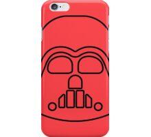 Darth Vader minimalist iPhone Case/Skin