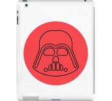 Darth Vader minimalist iPad Case/Skin
