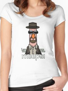 I am the one who meeps! Women's Fitted Scoop T-Shirt