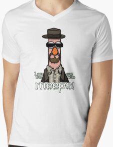 I am the one who meeps! Mens V-Neck T-Shirt