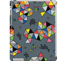 Edgewise grey iPad Case/Skin