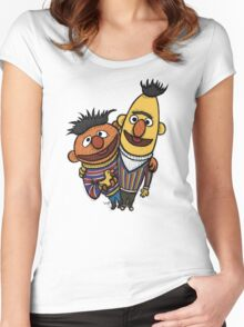 Bert And Ernie Women's Fitted Scoop T-Shirt