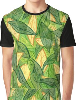 Chile Pepper Leaf Graphic T-Shirt