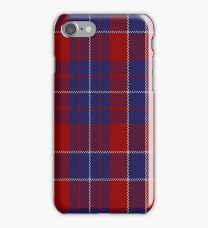 01426 Coronation #2 Commemorative Tartan iPhone Case/Skin