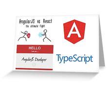 AngularJS Bundle Greeting Card