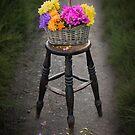 Basket of Flowers by Svetlana Sewell
