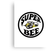 Super Bee Design Canvas Print