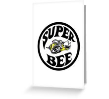 Super Bee Design Greeting Card