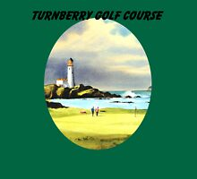 Turnberry Golf Course Scotland With Banner Unisex T-Shirt
