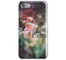 Blossoms and green iPhone Case/Skin