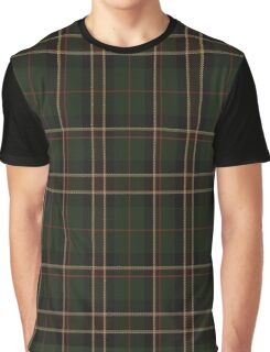 01421 Cornish Countryside District Tartan  Graphic T-Shirt