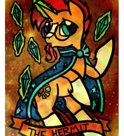 ArcanaPonies - The Hermit Sticker