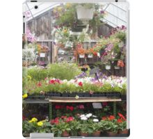 Farm and Flower Market Greenhouse iPad Case/Skin