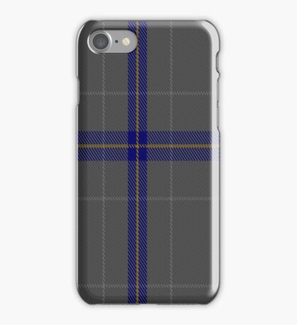 01416 Connecticut State Police Tartan  iPhone Case/Skin