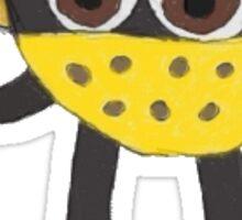 Cheese Head Sticker Sticker