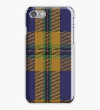 01413 College of New Caledonia Tartan  iPhone Case/Skin