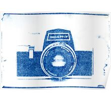 Cynotype Camera Poster