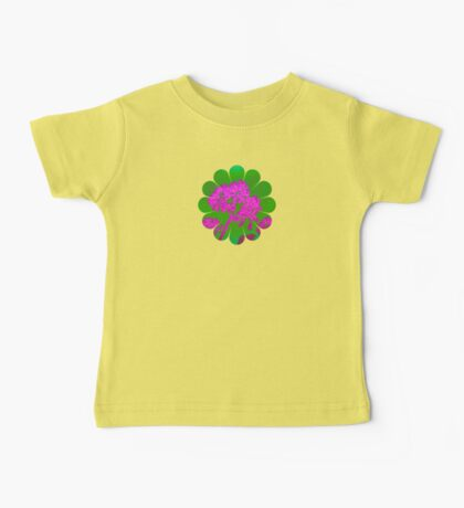 Funky Floral - JUSTART ©  Baby Tee