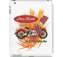 Panhead Motorcycle Design iPad Case/Skin