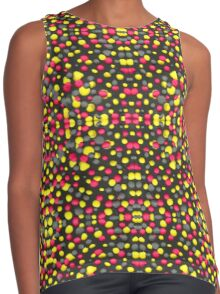 Valley Girl Dots Contrast Tank