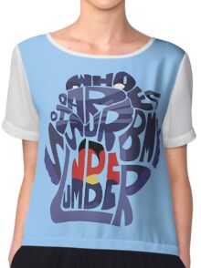 Cave of wonders Chiffon Top