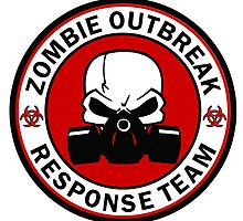 Zombie Outbreak Response Team Skull Gas Mask by SignStop