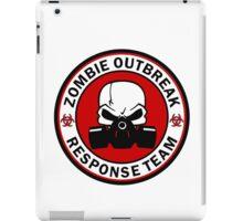 Zombie Outbreak Response Team Skull Gas Mask iPad Case/Skin
