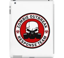 Zombie Outbreak Response Team Skull Gas Mask iPad Case/Skin