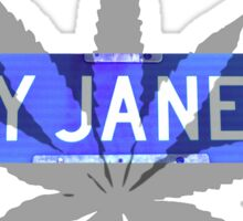 Leaf - Mary Jane Lane 420 Sticker