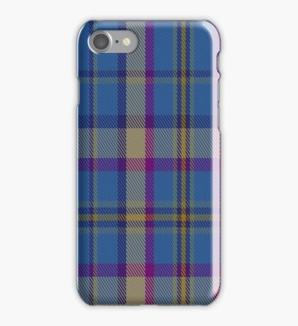 01403 Cian of Ely Tartan  iPhone Case/Skin