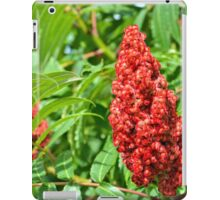 Sumac Flowers iPad Case/Skin