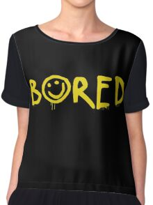 Sherlock - Bored! Chiffon Top