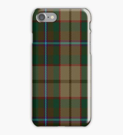 01402 Christmas Hill Game Farm Tartan   iPhone Case/Skin