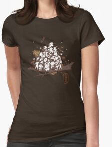 Doodle Spirits Womens Fitted T-Shirt