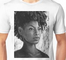 Fierce - Black and White Texture Unisex T-Shirt