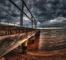 Frankston Pier by mellosphoto