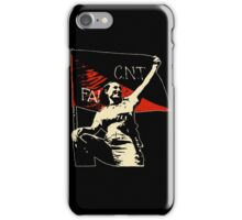 Anarchy Flag Woman - for dark backgrounds iPhone Case/Skin