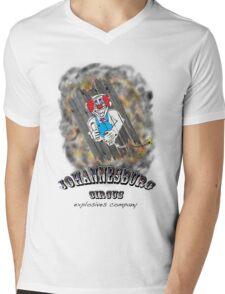 Johannesburg Circus Explosives Mens V-Neck T-Shirt