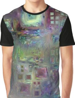 Crystalline Squares 3 Graphic T-Shirt