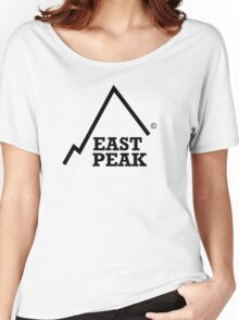 East Peak Apparel - Large logo Print Women's Relaxed Fit T-Shirt