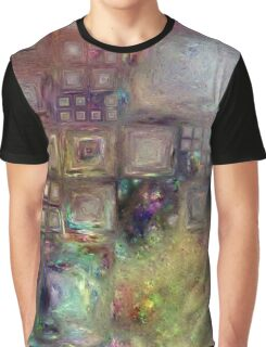 Crystalline Squares 4 Graphic T-Shirt