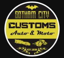 Gotham city customs ( auto-moto ) by Buby87