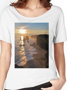 Sunset, Apostles Women's Relaxed Fit T-Shirt